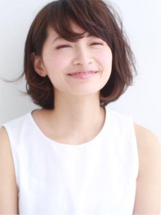 【ヘアスタイル】大人かわいいアゴラインのワンカールボブ☆