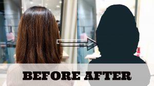 長さを変えなくても印象を華やかに!【きょうこさん】の髪【@原宿】